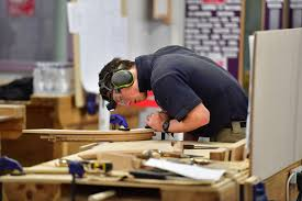 joiner in workshop
