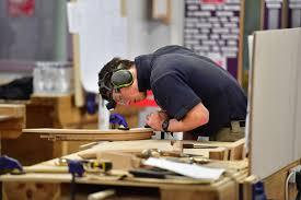 joiner in workshop