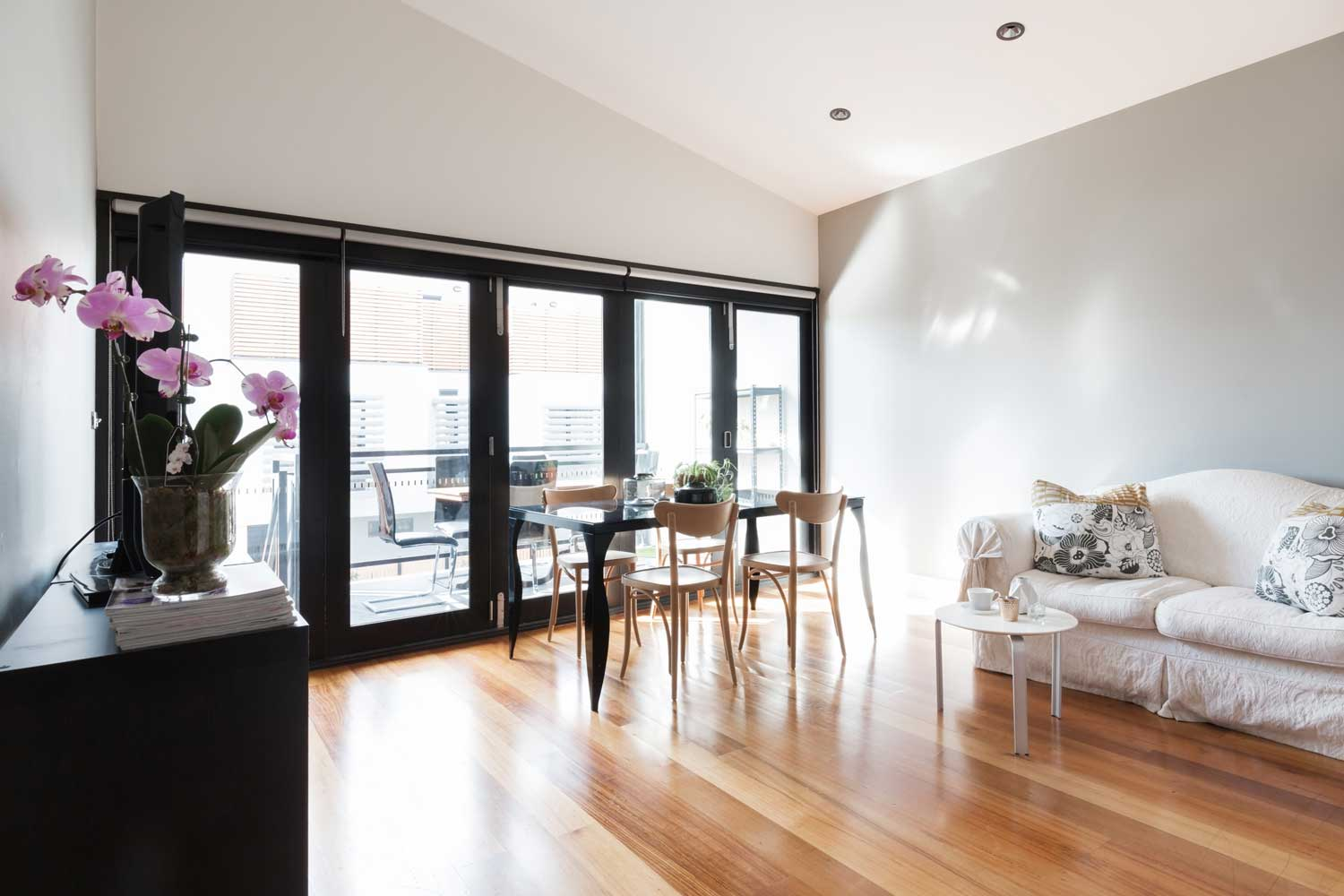 Bi Folding Doors in Living Room