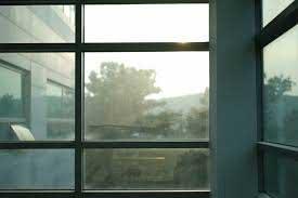 accoya windows with dark frames