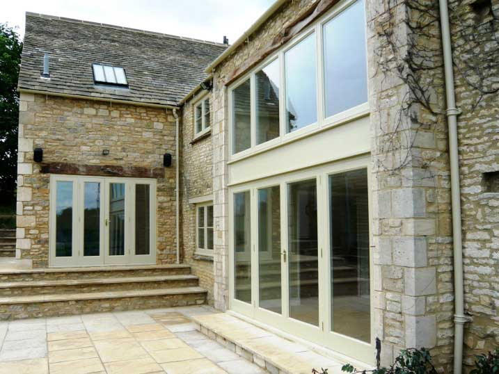 timber window and door casements